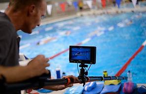 Highspeed underwater polecam operator Mark Sallaway