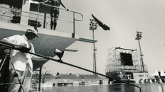 Barcelona World Diving with our underwater polecam rig