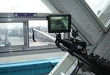 Tower Bridge polecam shoot for Spiderweb Man