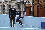 The Royal Marines parkour shoot - polecam