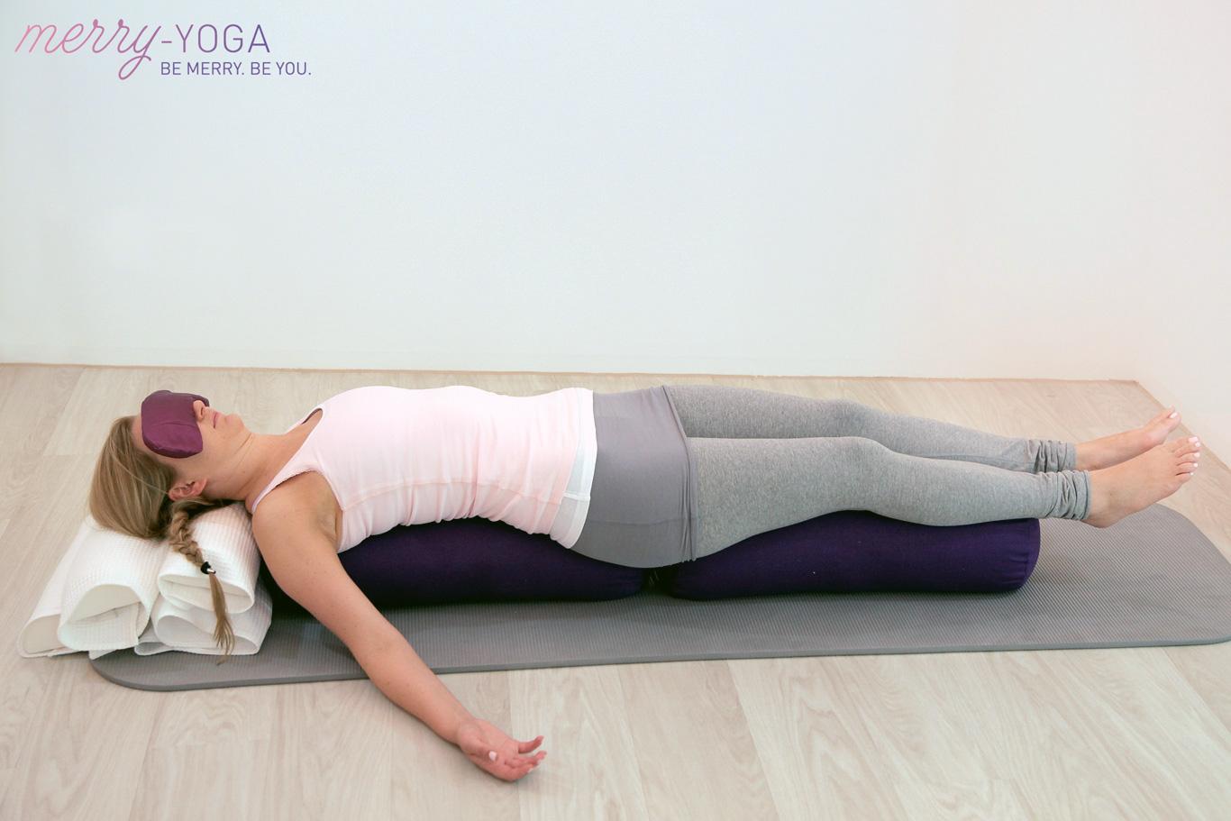 Merry-Yoga | München | liegende Brüc