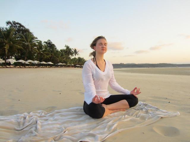 yoga calm happy new year