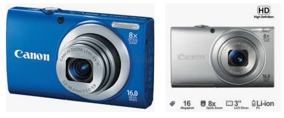 Canon PowerShot A4000IS 16.0 MP Dijital Fotoğraf Makinesi