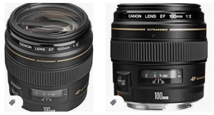 Canon 100mm f / 2.0 USM EF Lens
