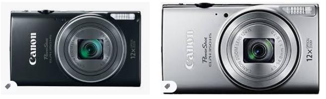 Canon PowerShot ELPH 350 HS (Siyah)
