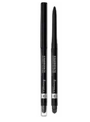Rimmel London Exaggerate Waterproof Black Eye Pencil