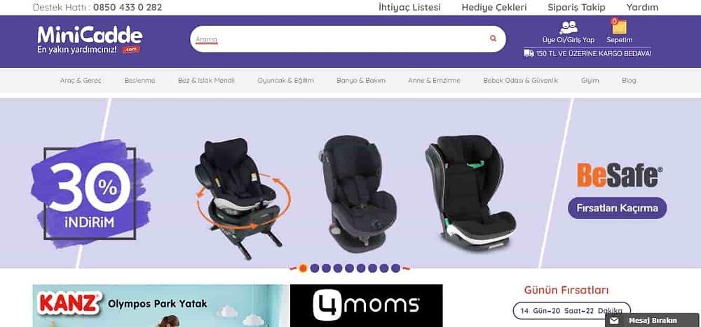 En iyi bebek sitesi Minicadde