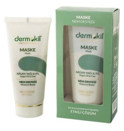 Dermokil Natural Maske Argan Yağı ve Nem Desteği