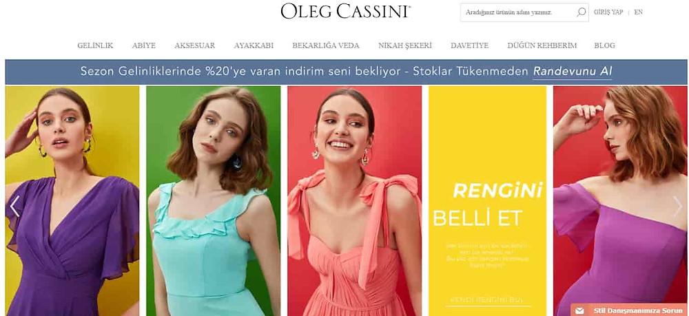 Oleg Cassini Abiye Sitesi