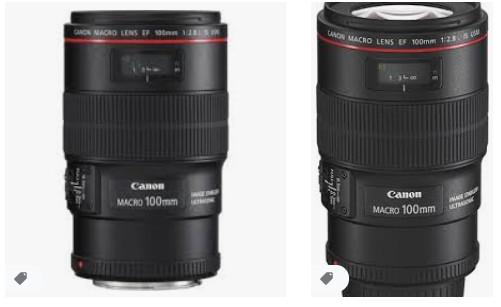 Canon EF 100mm f / 2.8L IS USM Makro Lens