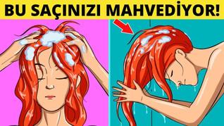 Saçlara Zarar Veren 10 Şey Bunları Yapma!