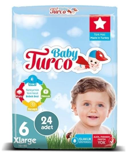En İyi Baby Turco Bebek Bezi