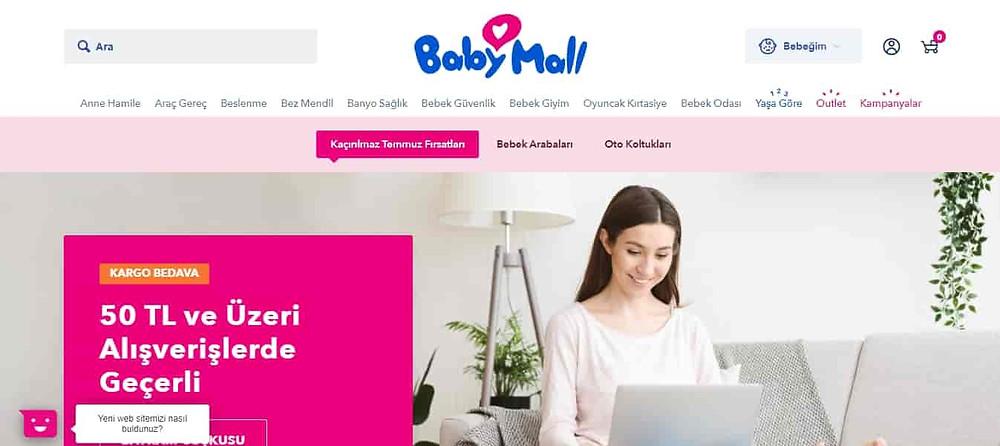 En iyi bebek sitesi Babymall
