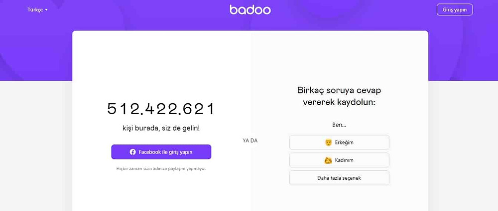 Badoo arkadaşlık sitesi