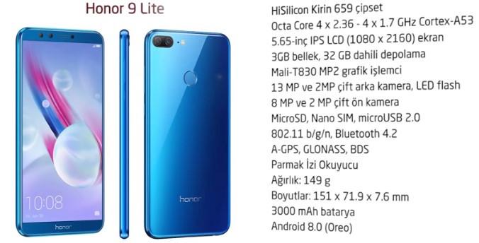 En Ucuz Telefon Modeli Honor 9 Lıte