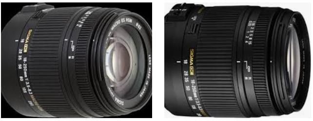 Canon için Sigma 18-200mm f3.8-6.3 II DC OS HSM Lens