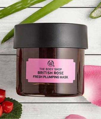 The Body Shop British Rose Nem Maskesi