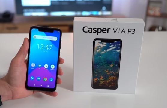 EN ucuz telefon modeli Casper VIA P3.