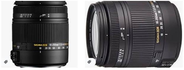Sigma 18-250mm F3.5-6.3 DC Macro OS HSM, Canon için