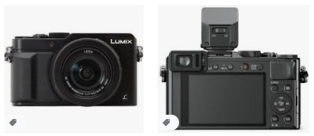 Panasonic LUMIX LX100 12,8 MP Bas ve Çek Kamerası