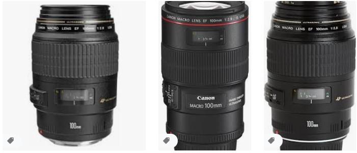Canon 100 mm EF USM Lens