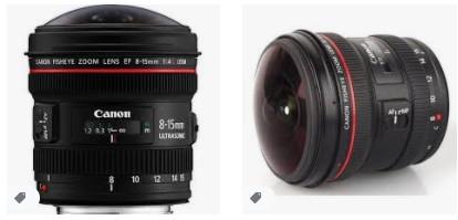 Canon EF 8-15mm f / 4L Balık Gözü Ultra Geniş Zum Lensi