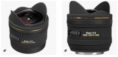 Canon için Sigma 10mm f / 2.8 EX DC HSM Balık Gözü Lens