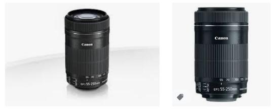 Canon SLR Kameralar için Canon EF-S 55-250mm F4-5.6 IS STM Lens