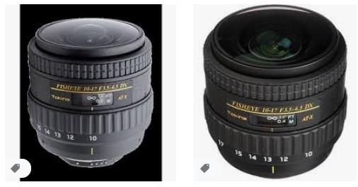 Tokina AF 10-17mm f3.5-4.5 AT-X DX Balık Gözü Lens, Canon için