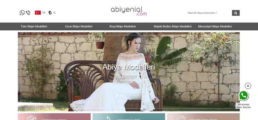 En iyi abiye sitesi Abiyenial