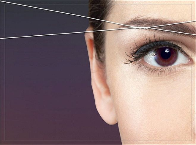 Brow Threading, Waxing, or Tweezing_