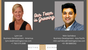 The Meeting Escrow Team is Growing