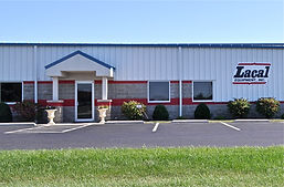 Commercial building: Botkins Electric & Plumbing project.