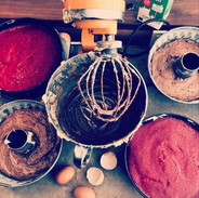 Kuchen backen...