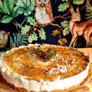 Cheesecake Honig Thymian