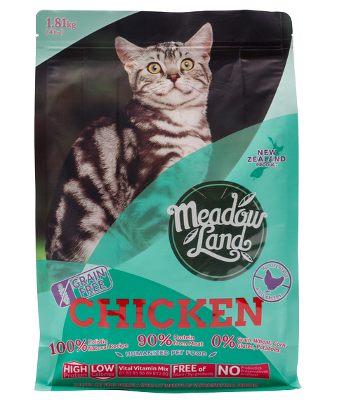 CHICKEN雞肉 美體配方全貓糧 1.81KG