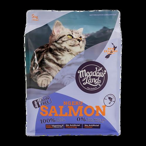 SALMON三文魚 美毛配方全貓糧 5KG