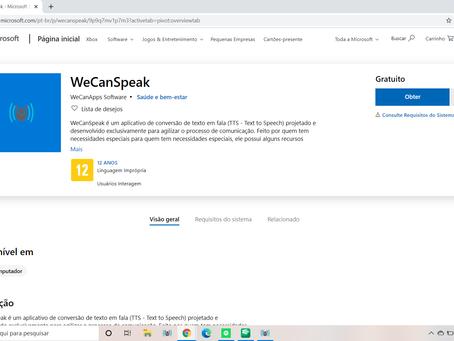 Lançamento do novo WeCanSpeak