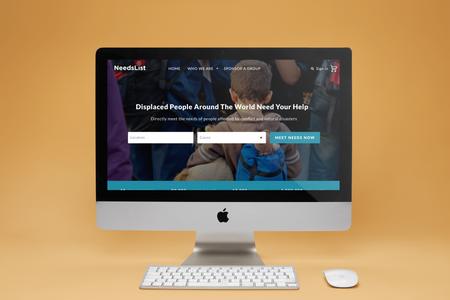 NeedsList Website Redesign