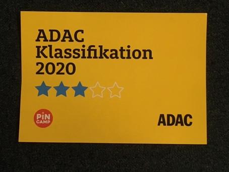 3-ADAC-Sterne für unseren Platz am Liepnitzsee