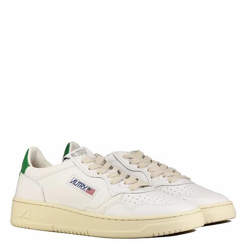Baskets blanches et vertes / AUTRY