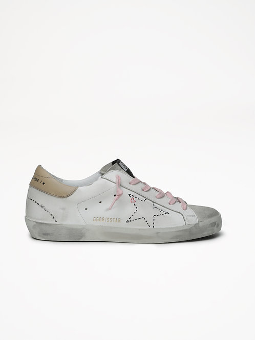 Superstar White Dotted / Golden Goose