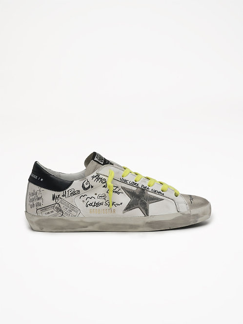 Superstar Leather Suede Signature / Golden Goose