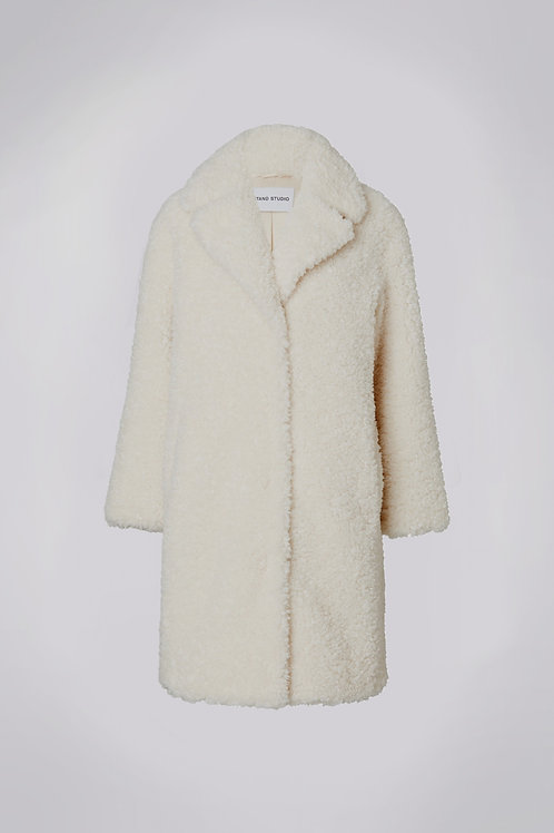 Manteau Camille Cocoon  Off White / Stand Studio