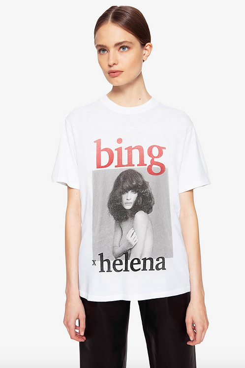 Lili Tee x Helena Christensen / Anine Bing