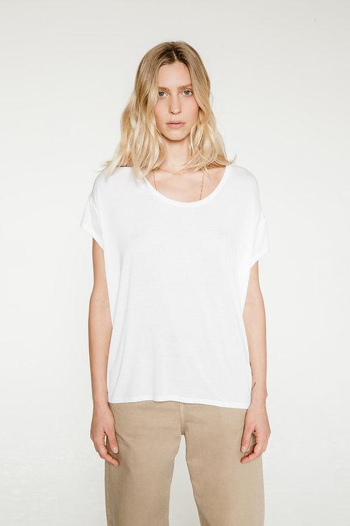 Marlow White Tee-Shirt / Margaux Lonnberg