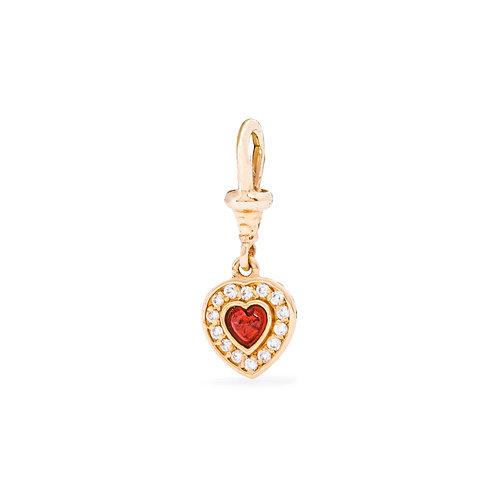 Charm Heart Pave
