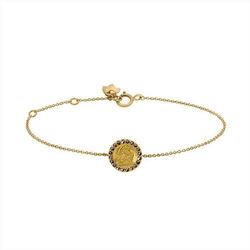 Bracelet Médaille Ange / Feidt