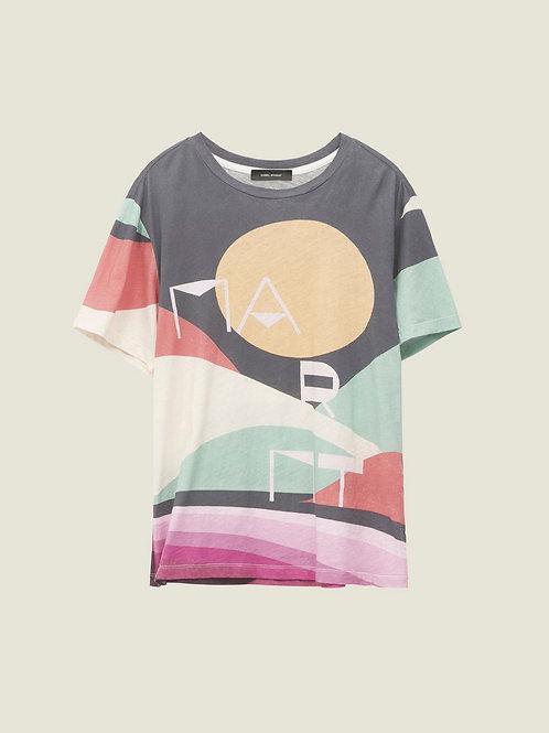 Tee-Shirt Zewel Faded Black / Isabel Marant