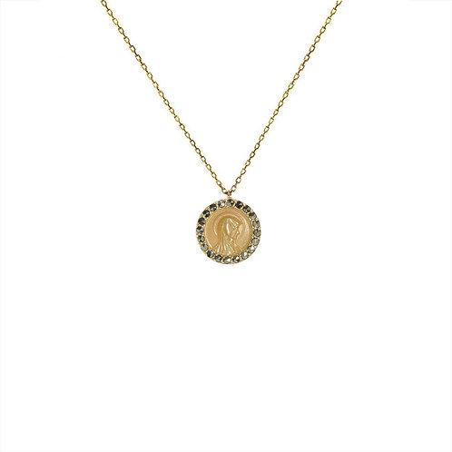 Collier Médaille Madone / Feidt